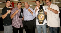 Alejandro Lopez Wins Super Bantamweight Title then Opens Local Gym