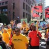 Hundreds March for Workers' Rights