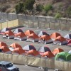 City-Sanctioned Homeless Camp Opens in San Diego Operations Lot by La Prensa San Diego