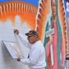 Our Lady of Guadalupe Aids Immigrants in New Chicano Park Mural