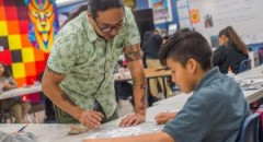 Local Students Honor Chicano Leaders Through Art