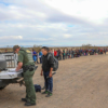 376 Migrants Tunnel Under Fence in Arizona