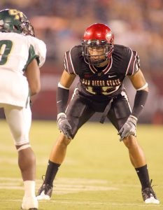 Jose Perez and the rest of the Aztecs start the year under a new coach and against a PAC 10 power the UCLA Bruins