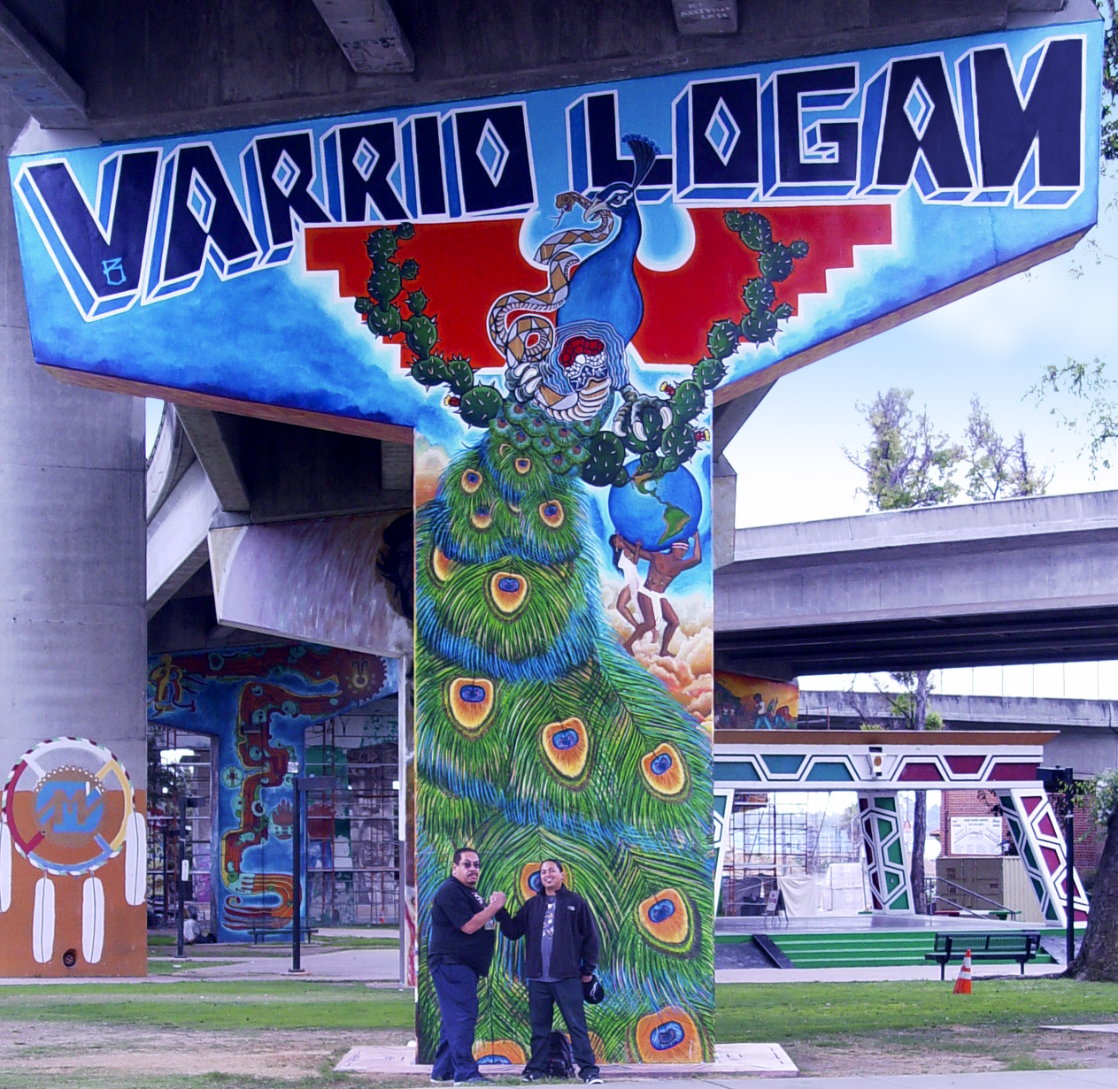 Varrio logan final mural revitalized in chicano park for Chicano park mural