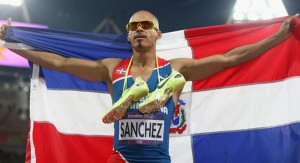 Felix Sanchez won the Laureus Comeback Athlete of the year award this month in Brazil.