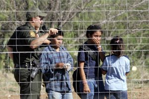 Children detained at the Tex/Mex border. File Photo.