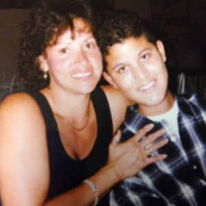 Lisbeth and Juan Carlos, just a few months before he passed away in 1999.