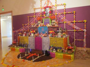 Day of the Dead Altars are a tradation that show respect and remembrance to those that are no longer with us