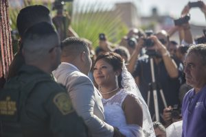 Wedding at the border - photo by Kelly Smiley