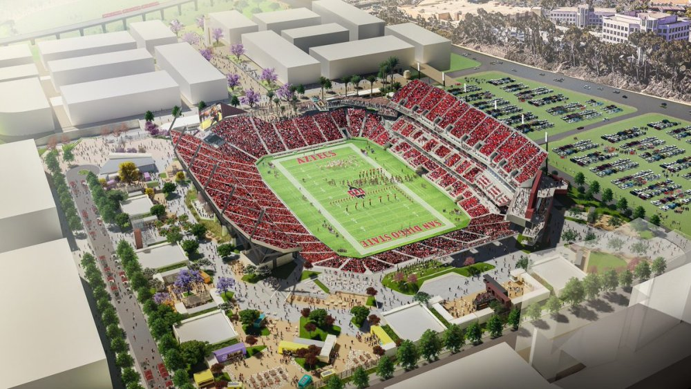 SDSU Mission Valley Plan Approved by State System