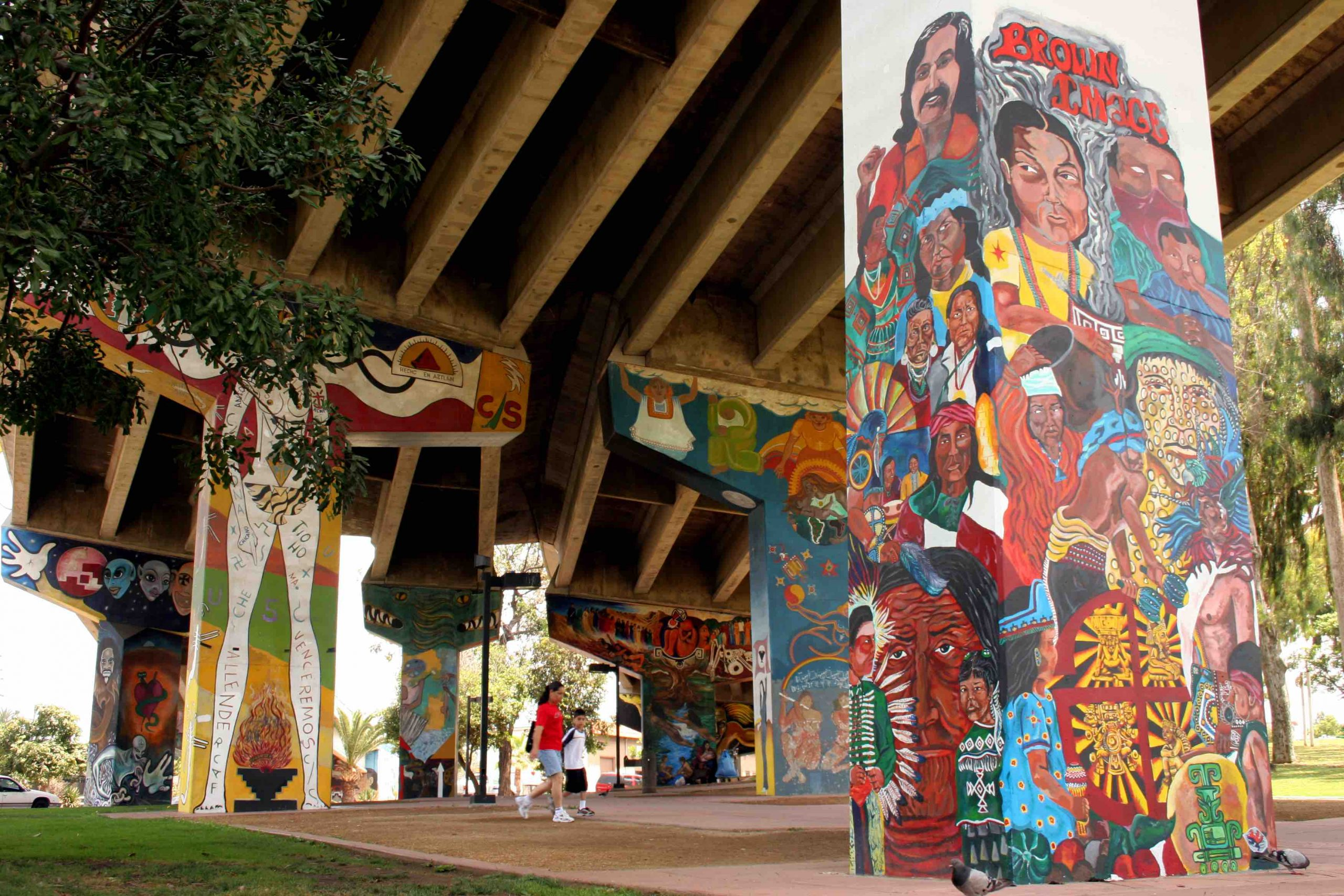 SUNDAY: Chicano Park on Display as Part of Historical Architecture Showcase
