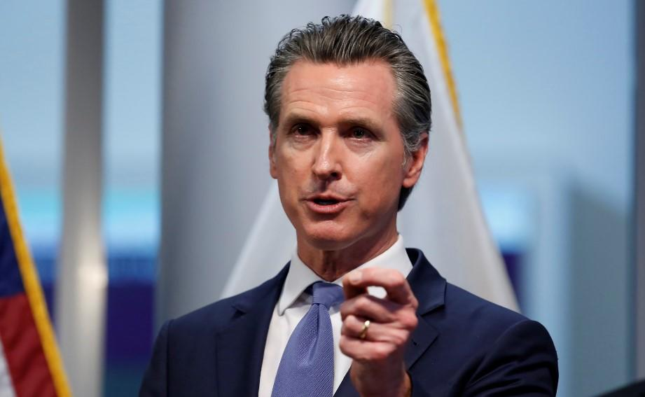 CA Governor Orders Residents to Stay Home
